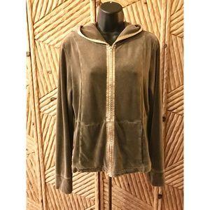 DKNY Women's Velvet Jacket Size M /tag L  Jacket